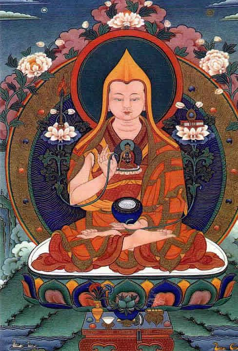 The foundation of all good qualities ~ Lama Tsongkhapa http://justdharma.com/s/s0m97  The foundation of all good qualities is the kind and venerable guru;  Correct devotion to him is the root of the path.  By clearly seeing this and applying great effort,  Please bless me to rely upon him with great respect.  – Lama Tsongkhapa  Foundation of All Good Qualities  source: http://www.lamayeshe.com/article/commentary-foundation-all-good-qualities