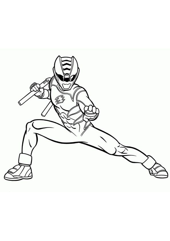 Printable Power Ranger Coloring Page In 2020 Power Rangers Coloring Pages Coloring Pages Birthday Coloring Pages