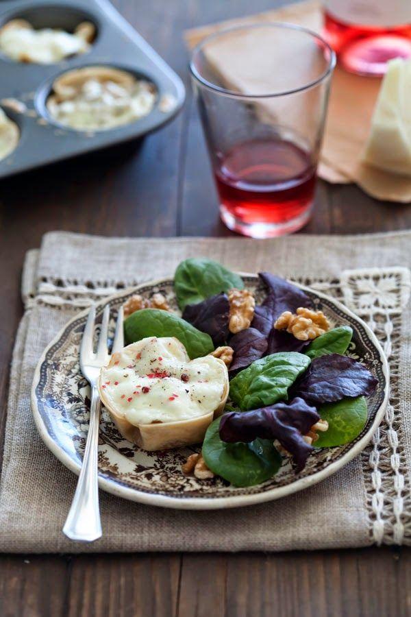 Recetas de Mon: Tartaletas rápidas de setas, jamón y queso Tronchón