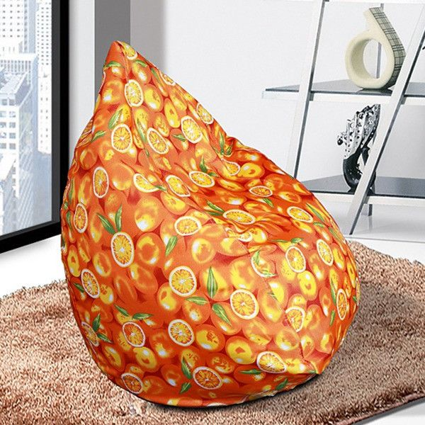 Removable Lazy Bean Bag Chair Living Room Furniture Computer Leisure Beanbag Seat Home Corner