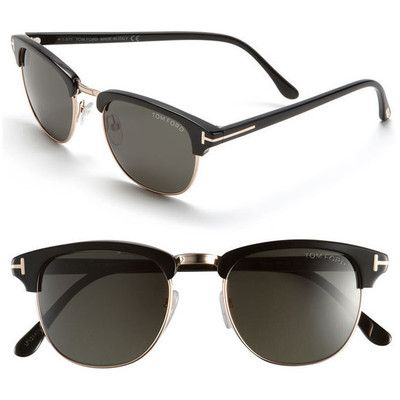 Alessandra Ambrosio style. Tom Ford 'Henry' Retro Sunglasses. View this product here http://wheresthatstyle.com/products/12367-tom-ford-henry-retro-sunglasses