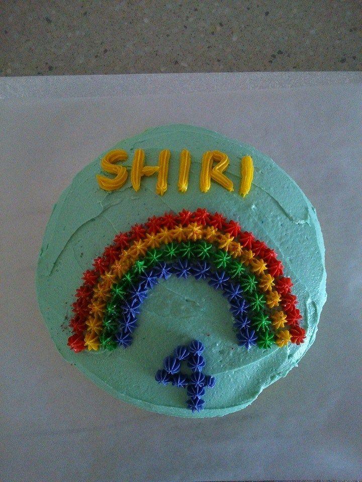 Shiris 4th birthday cake for kindy