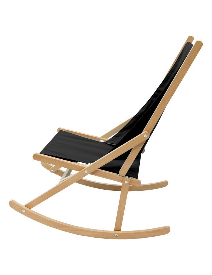 Folding Rocking Chair designed by Richard Ward #rockingchair #FRC #wawa