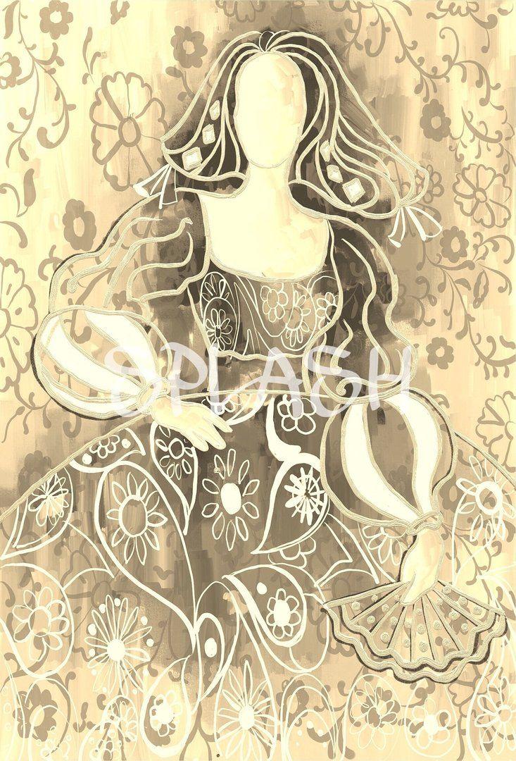 363 best meninas modernas images on pinterest abstract - Cuadro meninas moderno ...