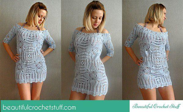 208 Best C Women Images On Pinterest Crochet Dresses Free