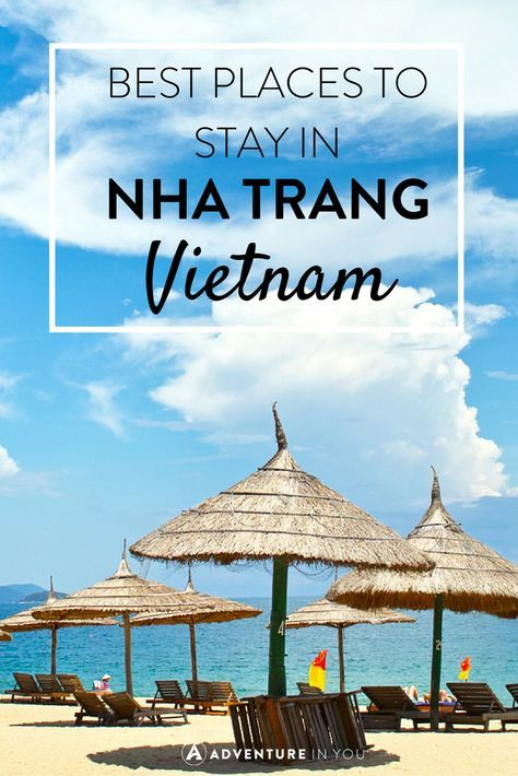 Looking for where to Stay in Nha Trang Vietnam? Here are a few of our top picks for hotels and hostels