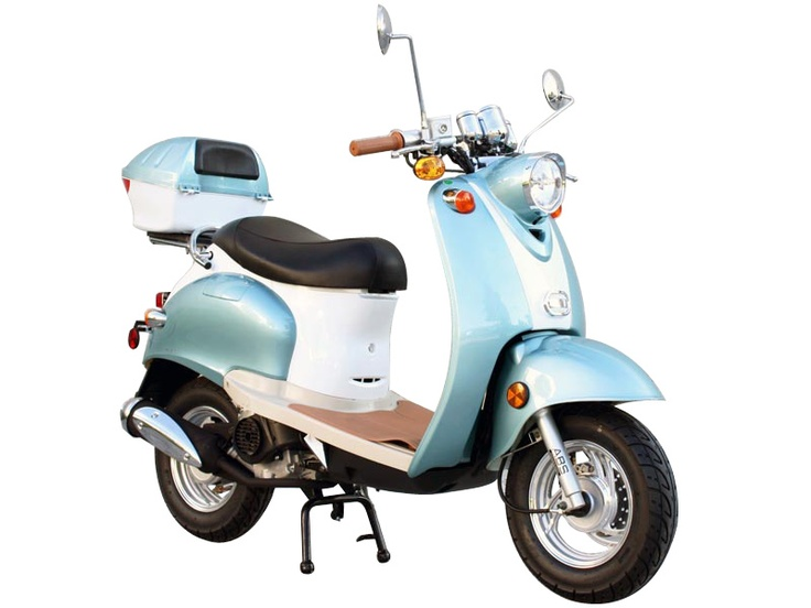 50cc 4 Stroke Euro Moped Gas Motor Scooters    I WANT IT SOOO BAD!