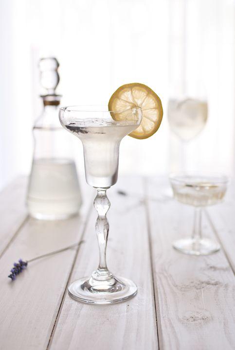 Lemon Lavender Cocktail.