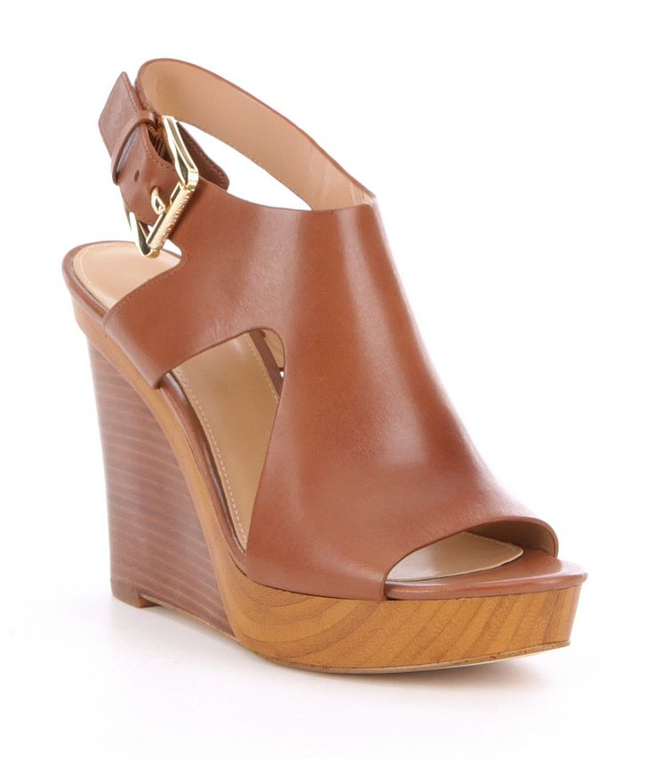 Shop for MICHAEL Michael Kors Josephine Leather Peep Toe Wedges at Dillards.com. Visit Dillards.com to find clothing, accessories, shoes, cosmetics & more. The Style of Your Life.