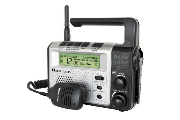 Midland emergency hand crank radio