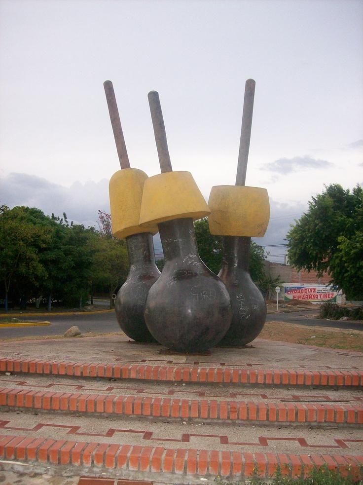 Colombia - Monumento a Los Poporos Valledupar
