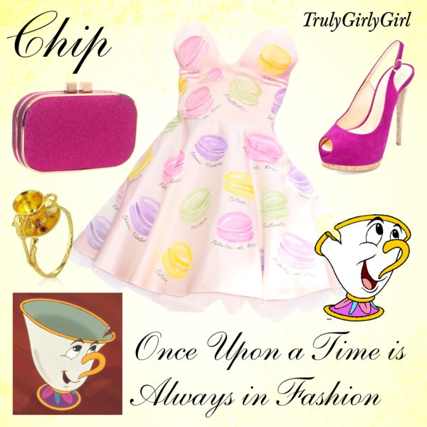"""Disney Style: Chip"" by trulygirlygirl ❤ liked on Polyvore"