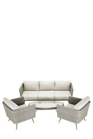 Buy Taranto Sofa Set Grey from the Next UK online shop