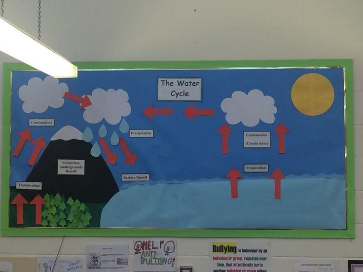 Water Cycle Display Board