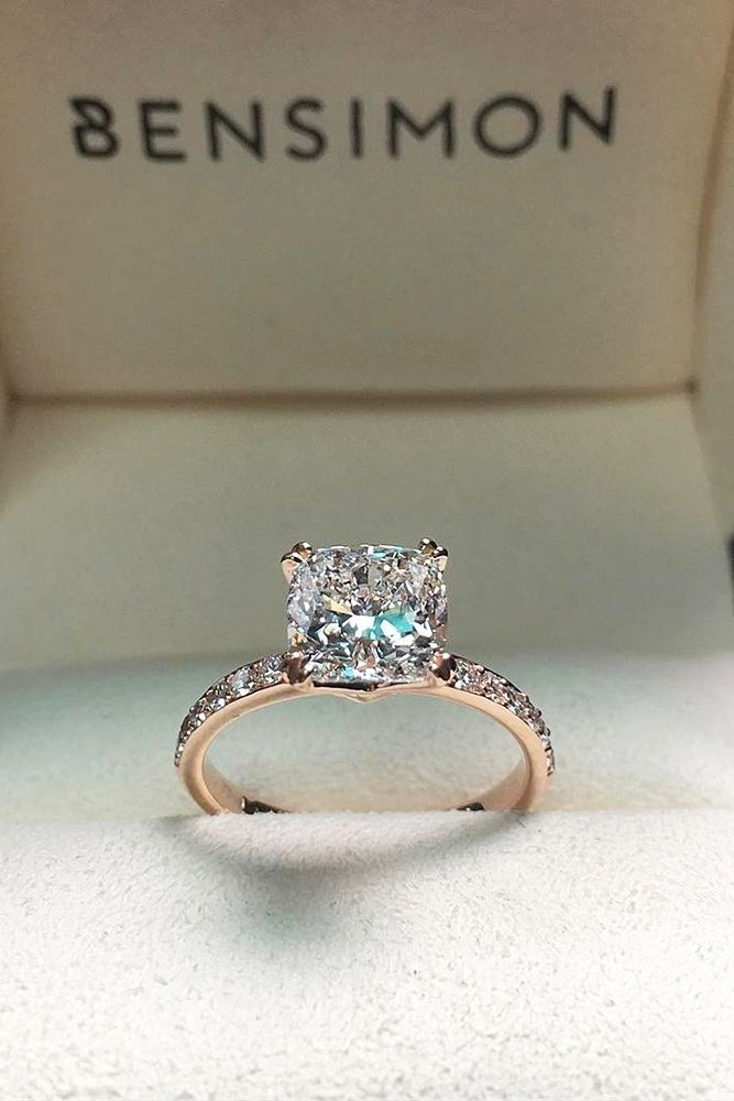 27 Most Popular Engagement Rings For Women ❤ See more: http://www.weddingforward.com/engagement-rings-for-women/ #wedding #engagement #rings #women