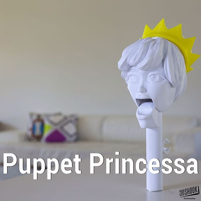 """@3dshookcollections's photo: """"the PUPPET collection - our talking puppet heads...kids and adults love it!!! At 3DShook we remember Home Theatre has """"Home"""" in it. Check us out at www.3dshook.com #3dprint #3dmodels #3dprinted #3dprinter #3dprinting #PrintEverything #makers #makermovement #makersgonnamake #tech #technology #puppet #puppets #puppetshow #puppettheatre #kidstuff #princess #princessa"""""""