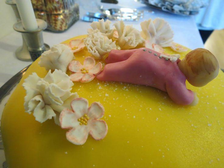 Vauvakakku made by Sanna Oksa