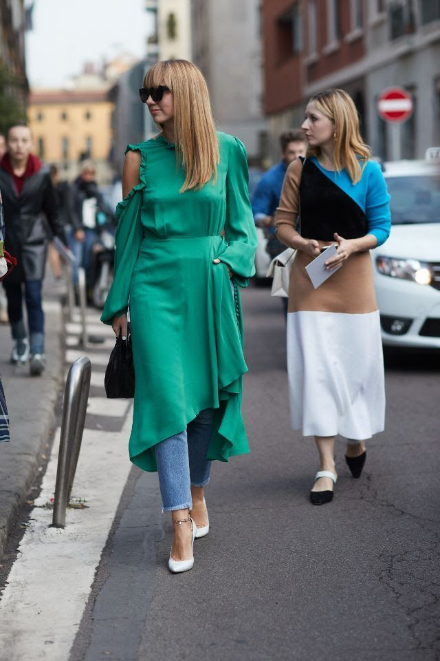 Best Looks Fashion Week  Street Style