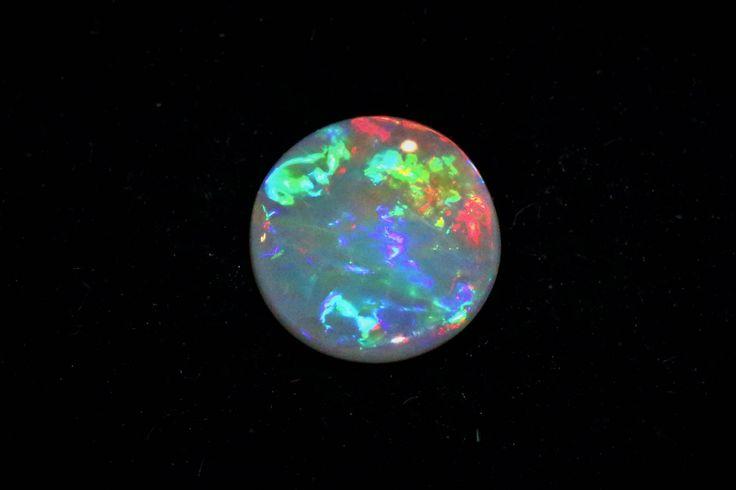 0.79Cts Lightning Ridge Crystal Opal Oval Loose Gem by MsOpalWorld on Etsy