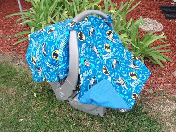 Hey, I found this really awesome Etsy listing at http://www.etsy.com/listing/87356538/baby-car-seat-cover-batman