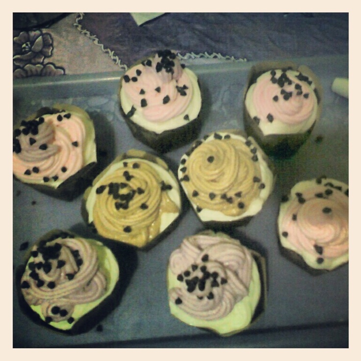 cup cake gak jelas. home made trying.