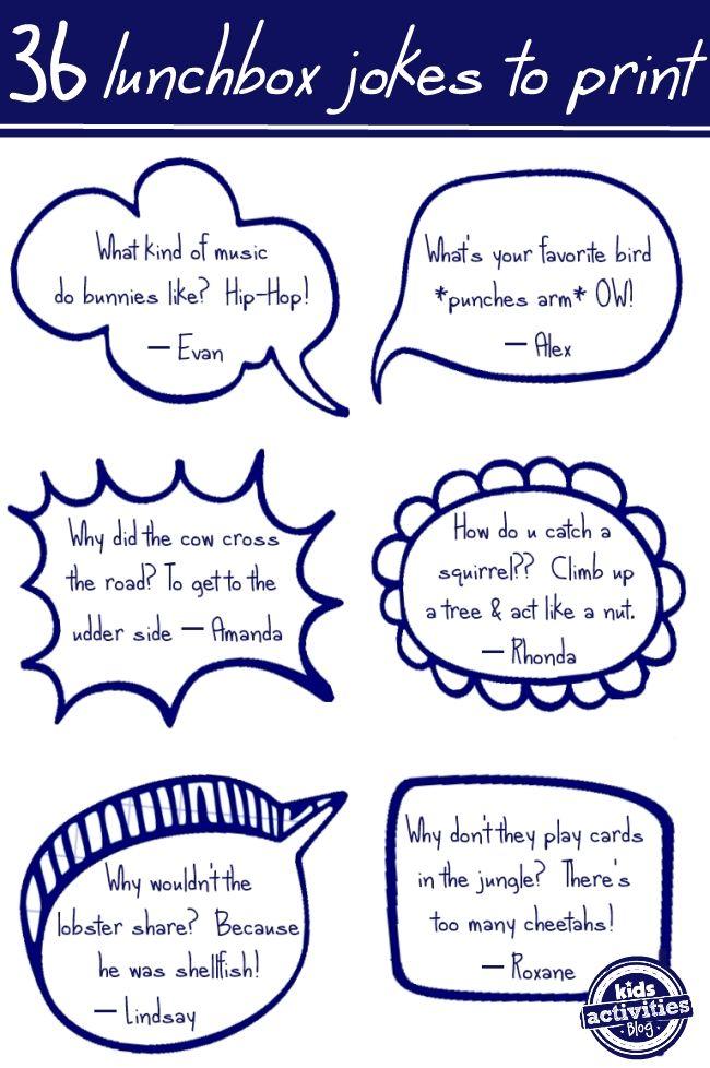 36 Free Printable Animal Jokes from Kids Activities Blog