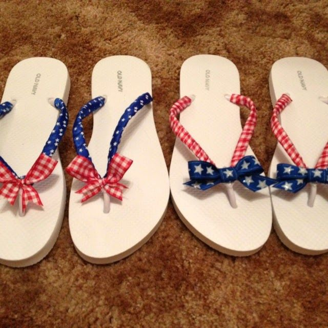Sweet Magnolias Farm: Flip ~ Flop ~ Flun ~ ...Kick off the Summer with some cute Flip Flop DIY Tutorials that are so easy !