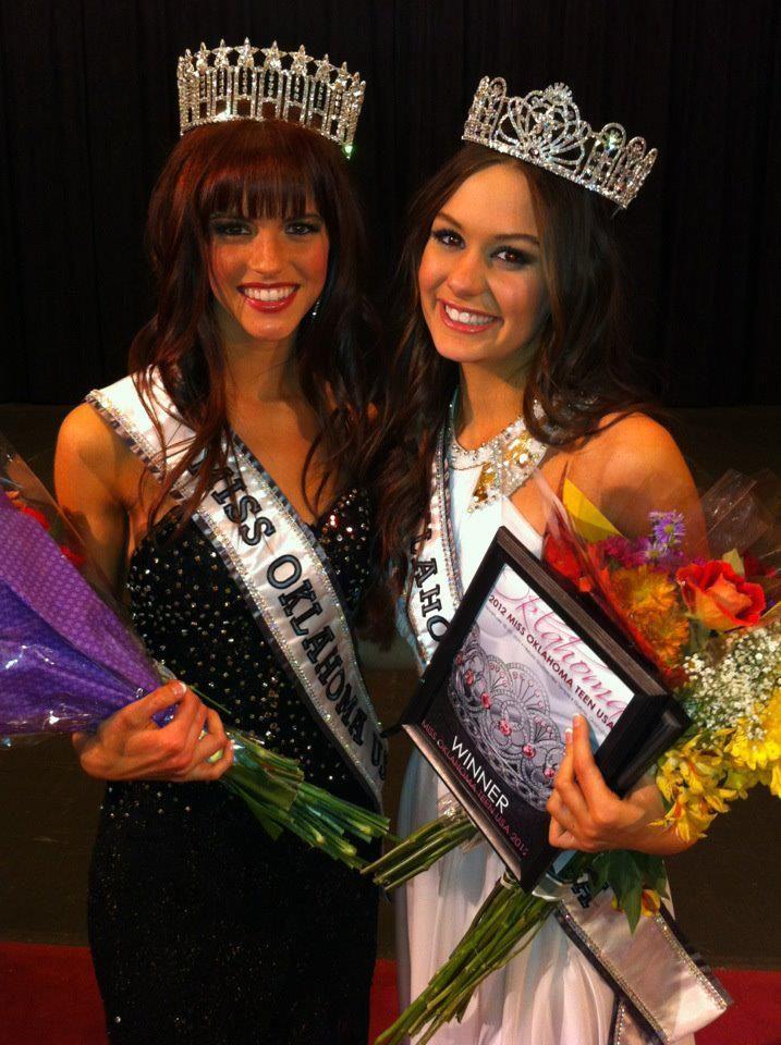 Miss Oklahoma USA and Miss Oklahoma Teen Usa 2012