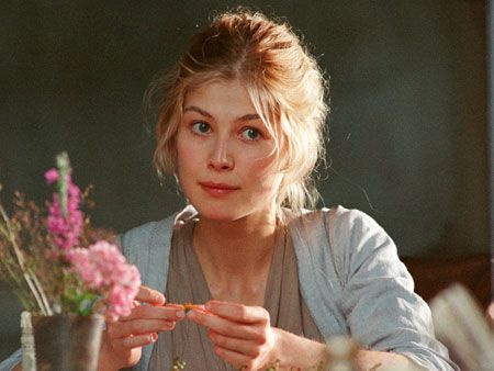 Rosamund Pike as Grace Ellerby in The Baron's Governess Bride