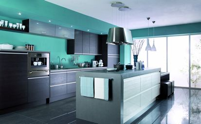 Nio dark oak kitchen