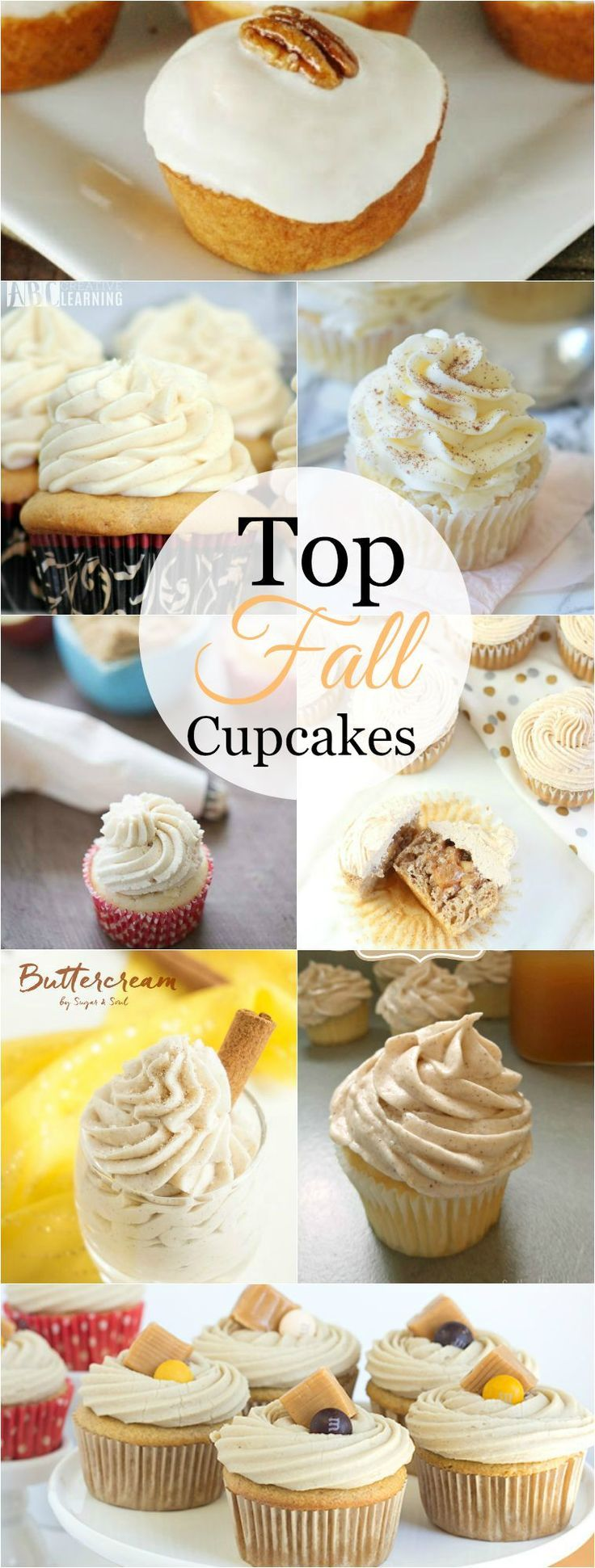 Top Fall Cupcakes are the perfect cupcake recipes to serve all Fall long.