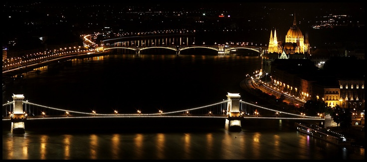 Budapest by night ♥
