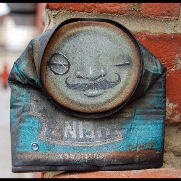 Today's cam liked to settle down with a good malt and a fine cigar after dinner #canman #mydogsighs by my dog sighs, via FlickrStreet Artists, Tins Cans Art, Canman Mydogsigh, Art Face, Fine Cigars, Art Installations, Dogs Sigh, Recycle Art, Streetart