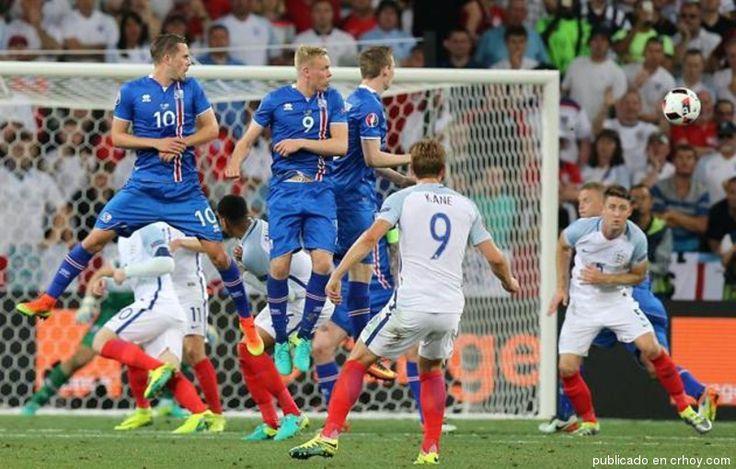 Islandia da la sorpresa en octavos de final de la Eurocopa