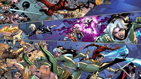 "Rick Remender (sc.), Adam Kubert & Leinil Francis Yu & Terry Dodson & Jim Cheung (rys.), ""Avengers i X-Men: Axis"", Egmont, 2018."