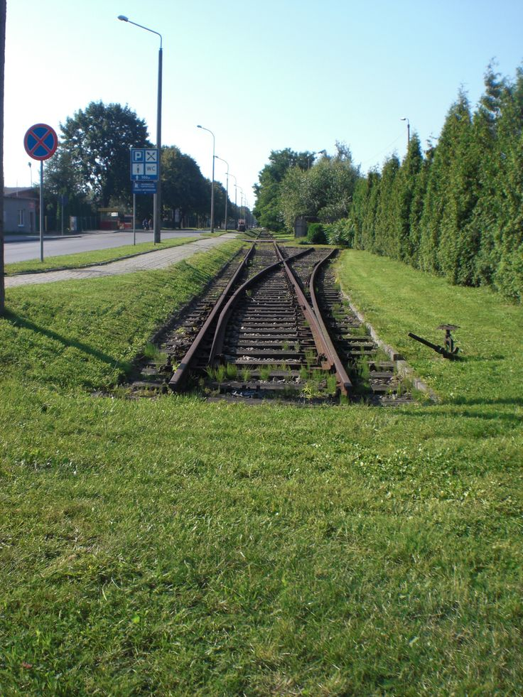 Auschwitz-Birkenau #train #railroad #end