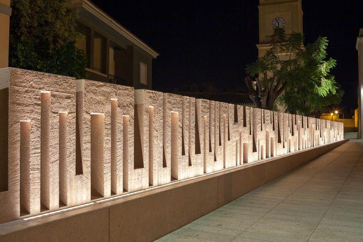 Compound Wall Lighting Design