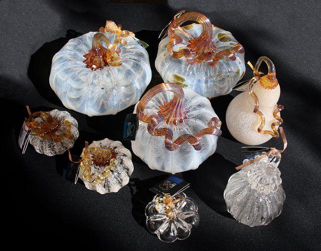 IMG_5882 milky white glass pumpkins by godutchbaby, via Flickr