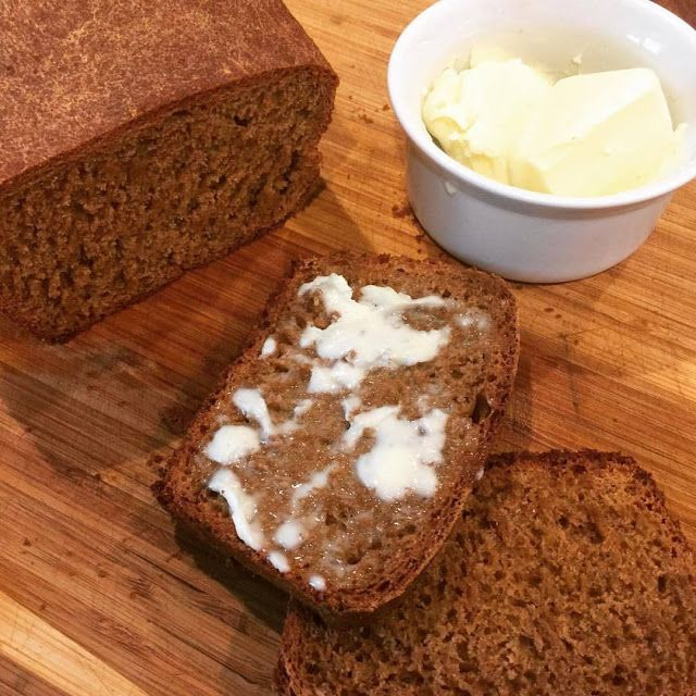 """New World German Brown Bread -- """"Squaw Bread"""". My family loves this bread! it's like the one at the Chart House and Cheesecake Factory -- dark, soft and sweet!"""