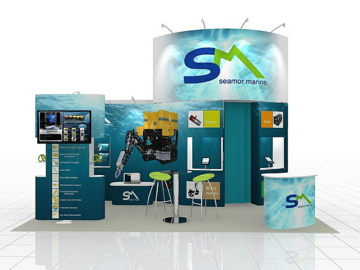 Modular Exhibition Display Stand (706)