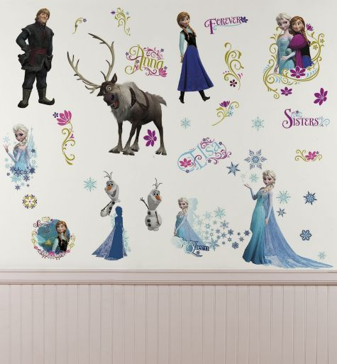 $14.99 -- (All Characters) Frozen Wall Decals - Party City