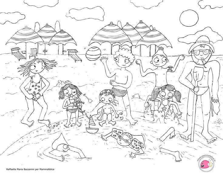 Disegno per bambini da colorare gratis bambini vacanza for Disegni di animali per bambini