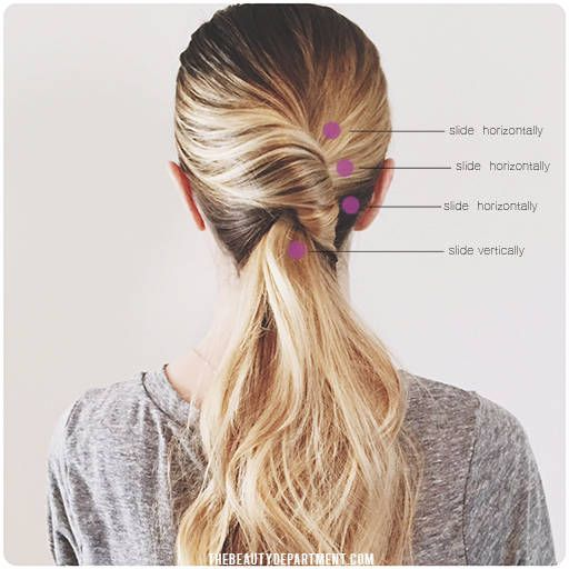best 25 twisted ponytail ideas on pinterest twist