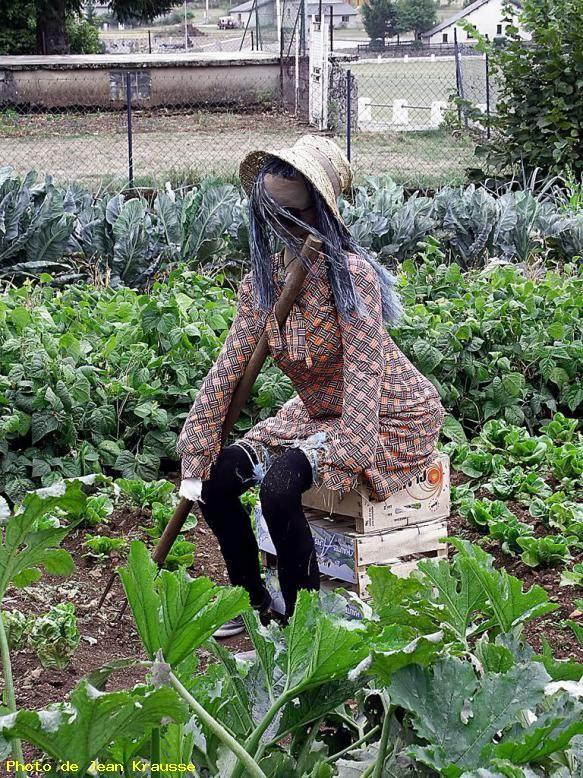 zoom curieux et original pouvantail camprieux 30 france jardin pinterest. Black Bedroom Furniture Sets. Home Design Ideas