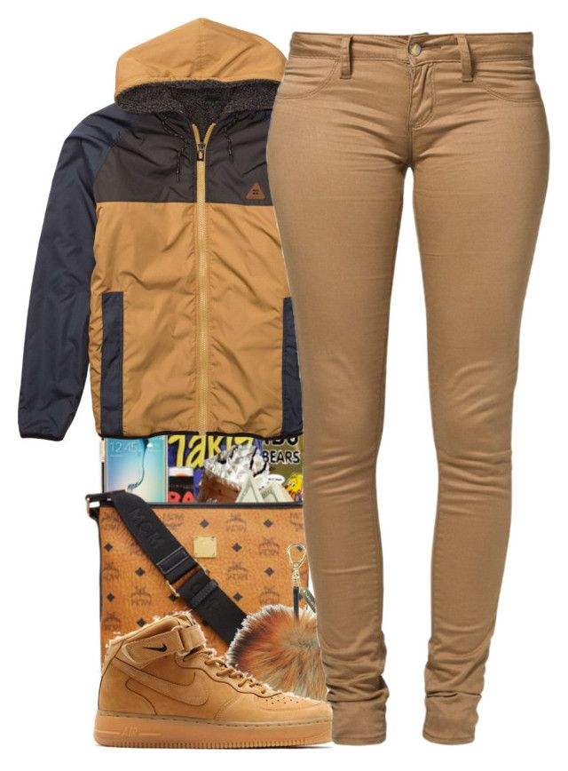 """Untitled #184"" by daijahhill25 ❤ liked on Polyvore featuring Billabong, NIKE and Monkee Genes"