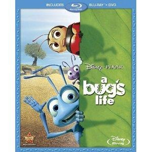 Brand New Disney Blu-Ray / DVD Pixar Movie Classics A Bug's Life Free Shipping