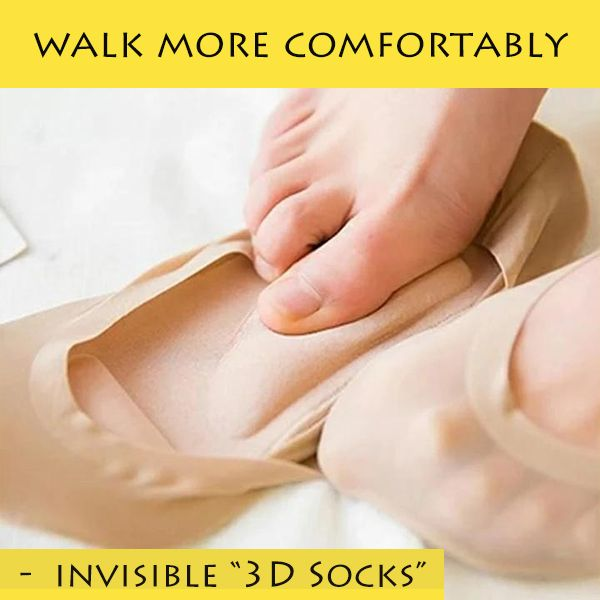 Invisible 3D Socks