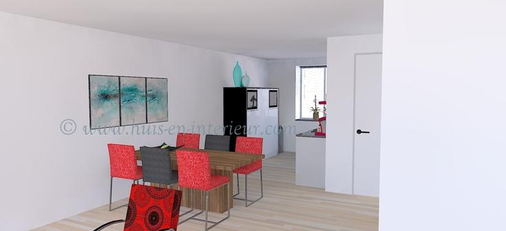 ibbA Almere - open keuken in vrij standaard opstelling