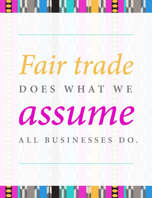Why #FairTrade? Helpful ethical shopping guide
