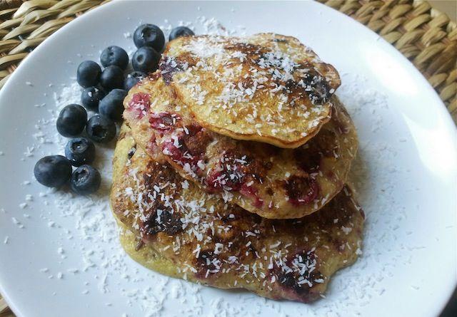 Recept voor super gezonde pannenkoekjes! Recipe for Super healthy pancakes :-D